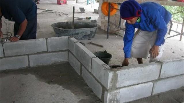 Low Density Fill Concrete : Jobsite photos architectural precast concrete block
